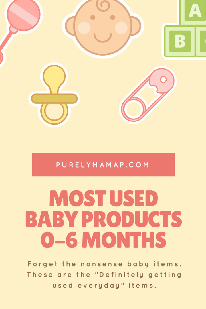 My Most Used Baby Products 0-6 Months